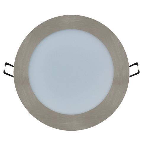Светодиодный светильник Horoz (HL688L) 12W 3000K круг. мат.хром (потолочный)  Код.56827