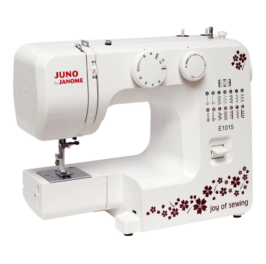 Швейная машина JANOME JUNO E1015