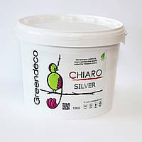 Краска с эффектом шелка Chiaro (Silver/Gold/Pearl). Greendeco 12кг
