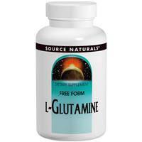 L- Глютамин, Source Naturals, Порошок,  453,6 г