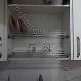 Сушка для посуду з рамкою в секцію 400 мм, нержавіюча сталь, фото 3