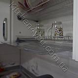 Сушка для посуды  с рамкой в секцию 800 мм. нержавеющая сталь, фото 2