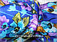 Кашемировые шарфы Пробуждение, синий, фото 4
