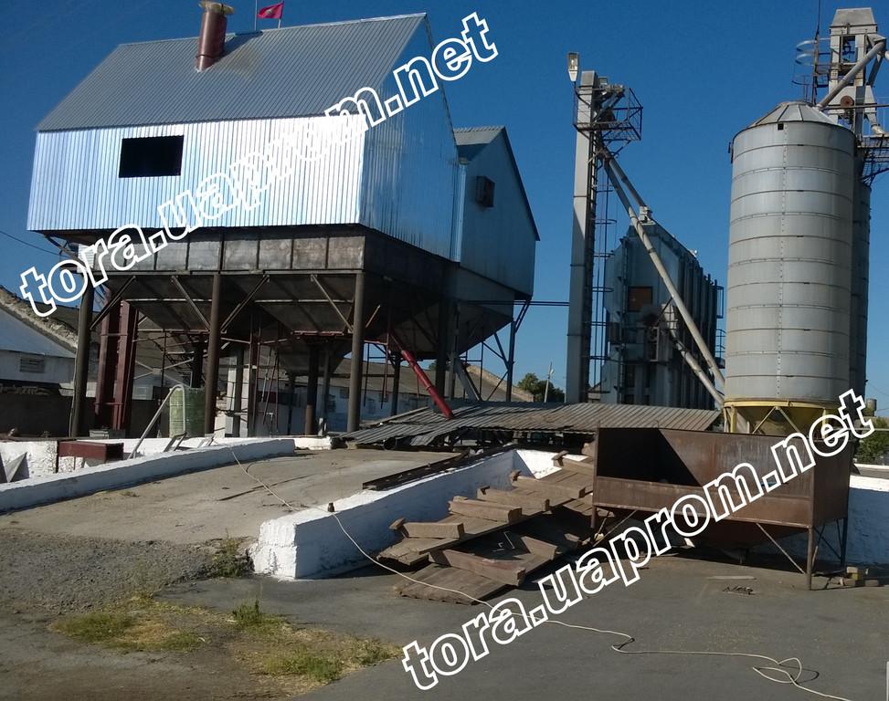 Строительство зерноочистительного комплекса ЗАВ с установкой сепаратора БЦС-50. ПМР , Рыбницкий р-н , с. Воронково 2