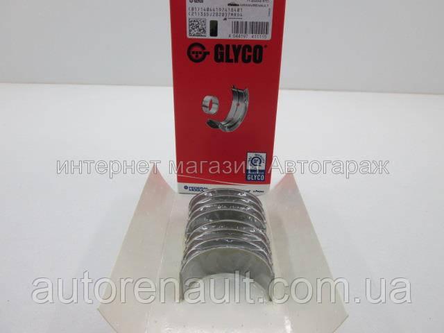 Вкладыши шатунные на Рено Логан II 1.5dci (K9K) 2012-> - GLYCO (Германия) 71-4243/4 STD, фото 1