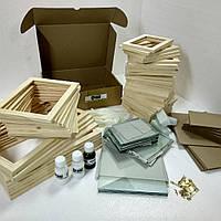 """Набор для самостоятельной сборки фотоколлажей из дерева  """"коллаж maxi-kit"""" , фото 1"""