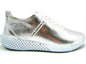 Туфлі Vladeks 1065 срібло