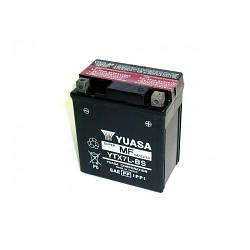 Надійний акумулятор на скутер, мопед , мотоцикл 12 вольт 6 ампер (заливний) YUASA YTX7L-BS 113x70x130