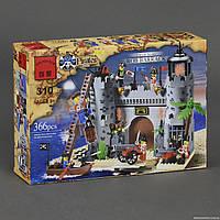 """BRICK 310 (24/2) """"Пиратская Крепость"""" 366 дет, в коробке СОБРАННЫЙ"""