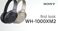 Беспроводные стереонаушники с функцией шумоподавления Sony WH-1000XM2 Black