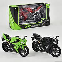 Мотоцикл металлопластик НХ 794-1 (144) 3 цвета, в коробке