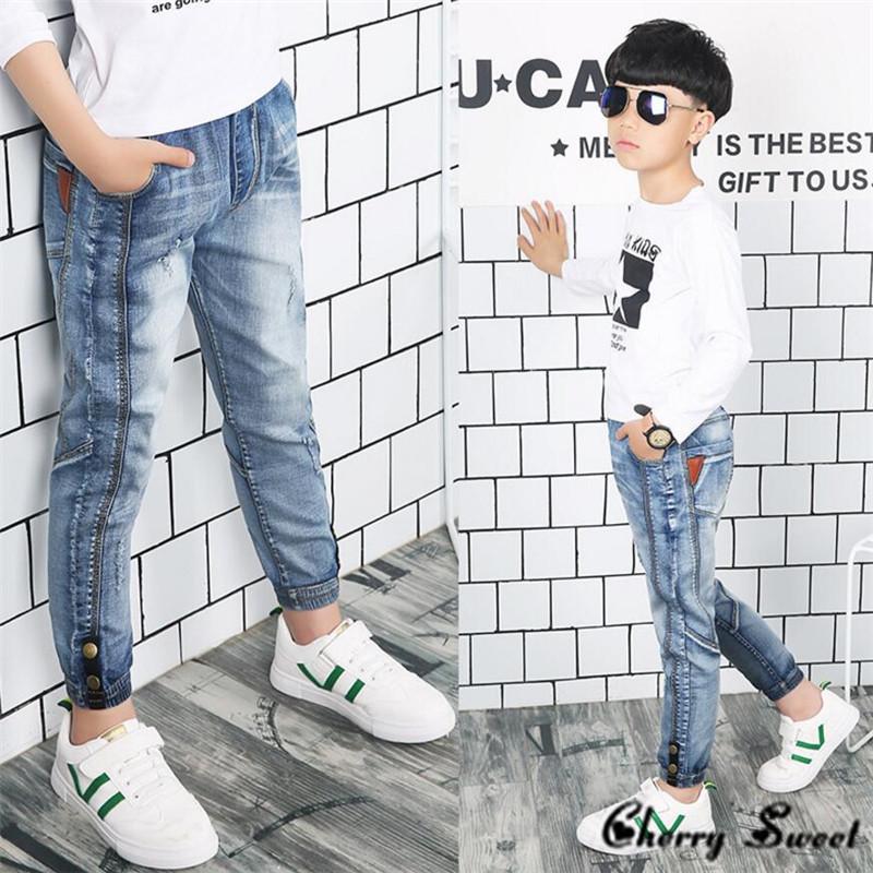 Весняні стильні джинси для хлопчика   продажа 21ceef45ee02c