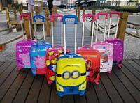 """Детские дорожные чемоданы на 4-х колесах. Размер 16"""", 18"""", 20"""""""