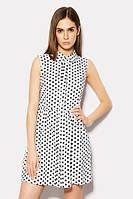 M (46) / Сдержанное женское платье Olis, белый