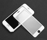 Захисне скло 5D для телефону iPhone 6 Plus/ 6s Plus - білий