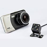 Автомобильный видеорегистратор DVR X 600 с двумя камерами