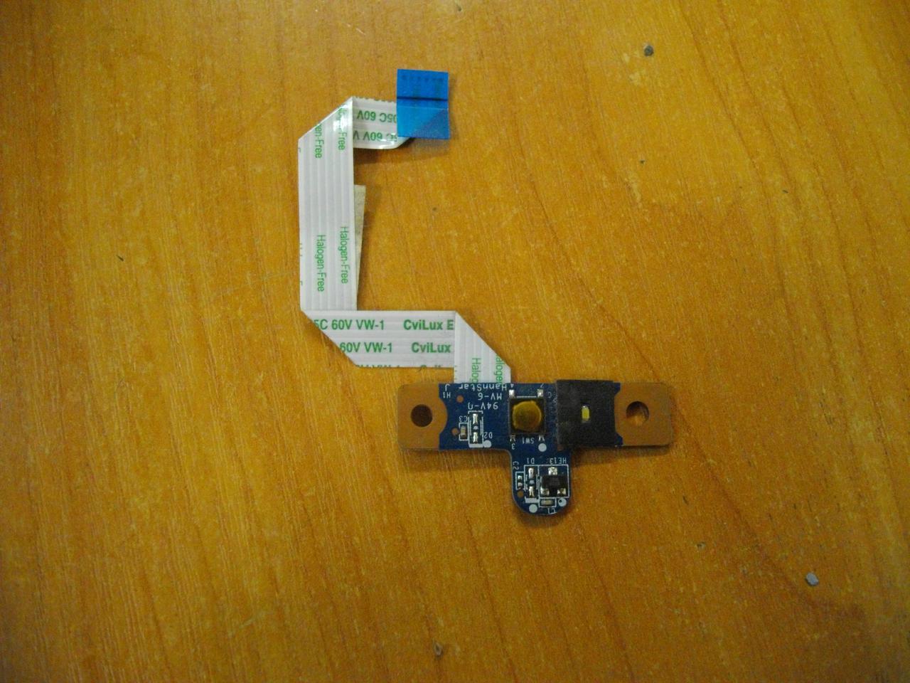 Плата с кнопкой включения HP Pavilion G4 G4-1000 G4-1015DX