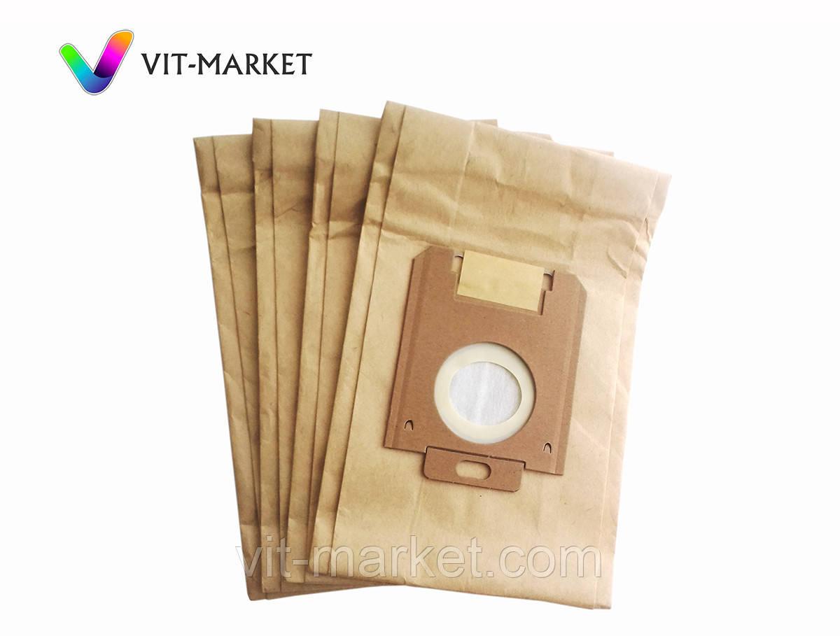 Мешки  бумажные 4шт  Filtero эконом для пылесосов AEG, ARNICA, ELECTROLUX, ZANUSSI, PHILIPS код FLS 01(4)
