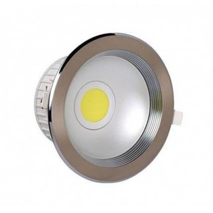 Светодиодный светильник Horoz (HL696L) 10W 4200K мат. хром (потолочный) Код.55195, фото 2