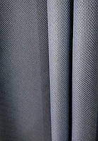 Штора мешковина блэкаут цвет серо-голубой