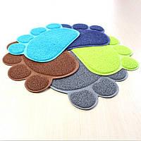 Коврик для питомца Paw Print Litter Mat