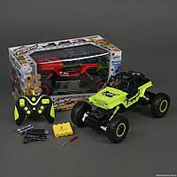 Джип 0136 (18) р/у, на аккум. 4.8V, резиновые колеса, в коробке