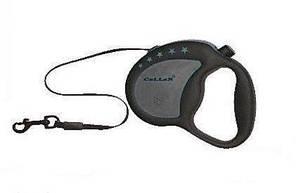 Flexi Classic New Comfort L ( 5м , лента , до 60кг ) поводок-рулетка для собак с мягкой ручкой