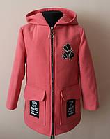 Пальто на девочку детское кашемировое демисезонное, фото 1