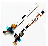 Шлейф (Flat cable) с коннектором микрофона, гарнитуры, с сенсорными кнопками и кнопкой Home Samsung J700