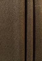 Штора мешковина блэкаут темно-коричневый