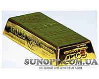 Зажигалка карманная слиток золота (острое пламя) №3509