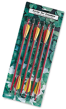 Стрелы алюминиевые AL14/6R для арбалета MHR /06-01