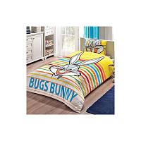 Постельное белье Tac Disney - Bugs Bunny Striped 160 220 подростковое 0cdde74b40e40