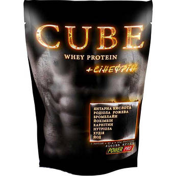 CUBE Whey Protein / Куб Вей Протеин 1 кг