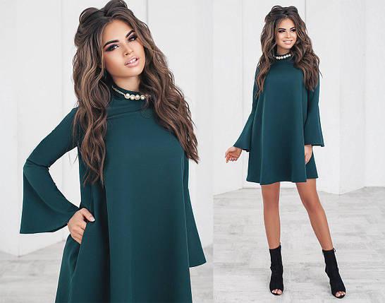 Свободное платье выше колен, фото 2