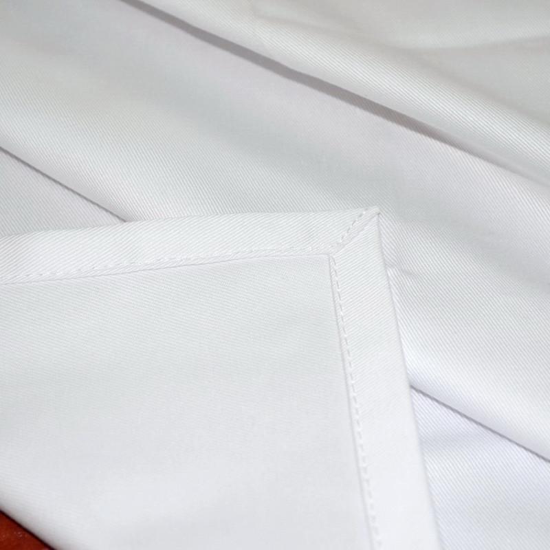 Ткань скатертная Н-245 Белая Смесовая
