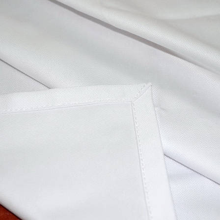 Ткань скатертная Н-245 Белая Смесовая, фото 2