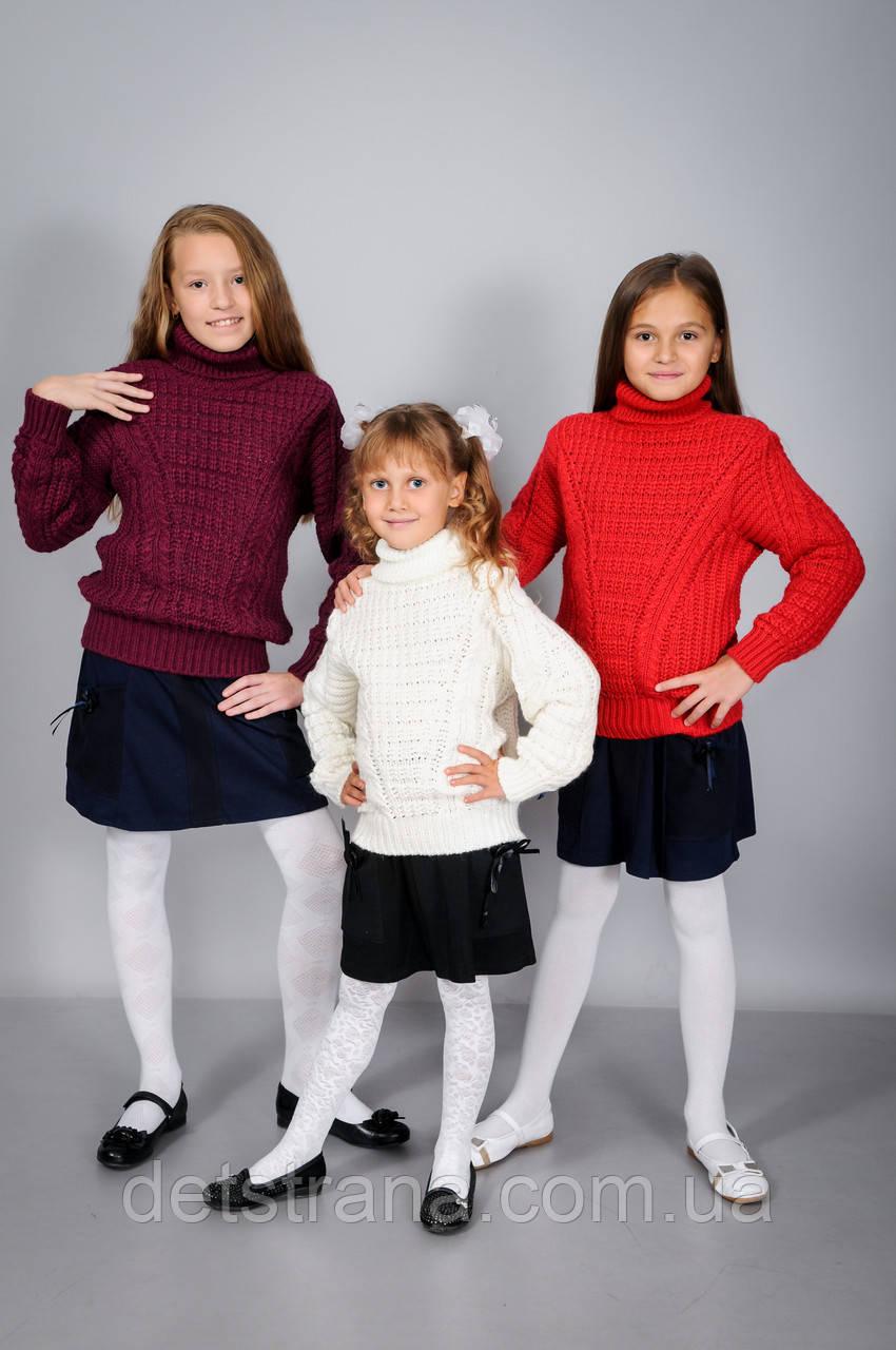 Дитячий в'язаний светр для хлопчиків і дівчаток