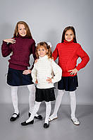 Детский вязанный свитер для мальчиков и девочек