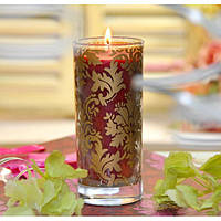 Свеча в стакане C158