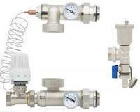 Смесительная система для напольного отопления Gross HS-01 (прямой клапан)
