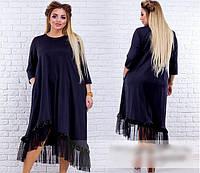 Платье женское А-силуэта, с 50-56 размер, фото 1