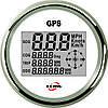GPS спидометр мультиэкран ECMS (белый)