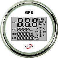 GPS спидометр мультиэкран ECMS (белый), фото 1