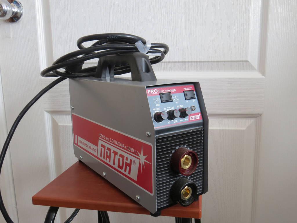 Сварочный инвертор ПАТОН ВДИ 200P DC MMA/TIG