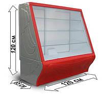 Витрина холодильная кондитерская Умка б/у, прилавок кондитерский бу.