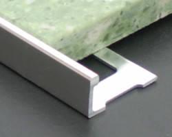 Алюминиевый уголок для плитки АП 10 прямой 2.5 м