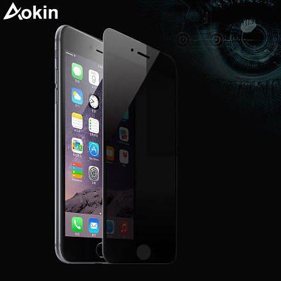 Защитное стекло ANTI SPY для iPhone 7 / 7s (с фильтром конфиденциальности) глянцевое