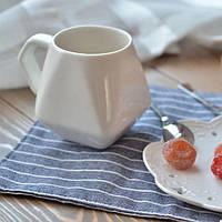 Керамическая чашка Ромб / оригинальная чашка в подарок