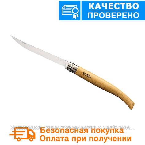 Нож Opinel (опинель) Slim Beechwood No.15 (000519), фото 2